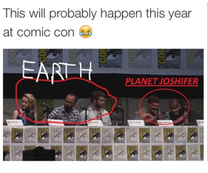 comic con, catching fire, and funny image