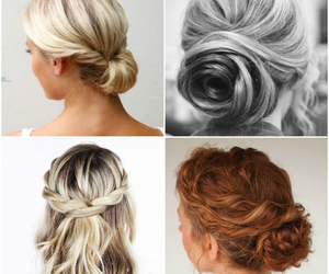 braids, bun, and chignon image