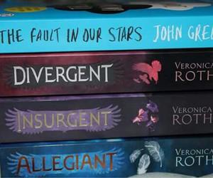 books, insurgent, and allegiant image