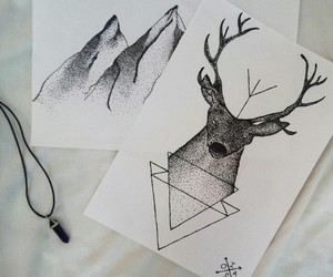 art, dots, and draw image
