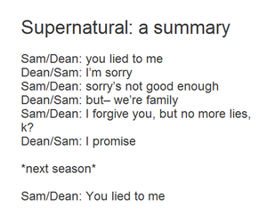 supernatural, dean winchester, and fandom image