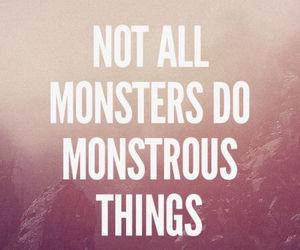 teen wolf, monster, and quote image