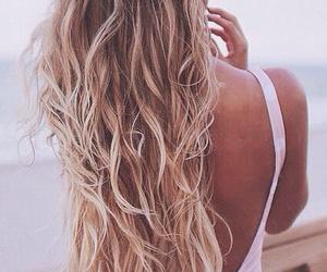 hair, long hair, and beautiful image