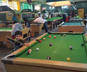 child, pool, and snooker image