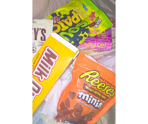 candy, reeses, and yummy image