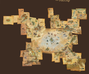 map, hiccup, and httyd image