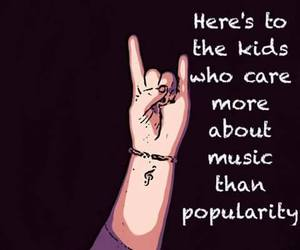 music, kids, and popularity image