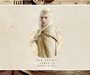 daenerys targaryen, got, and game of thrones image