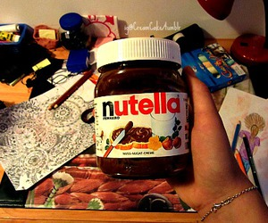 food, nutella, and pictures image
