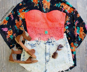 outfit, summer, and fashion image