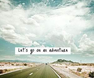 adventure, travel, and quote image
