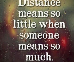 couple, distance, and far away image