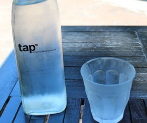 water, drink, and tap image