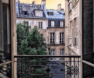 architecture, balcony, and home image
