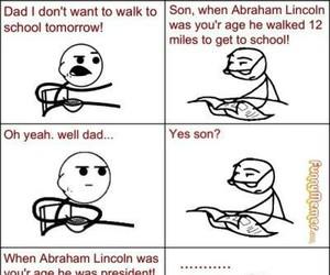 funny, lol, and abraham lincoln image