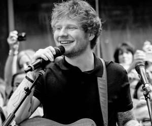 ed sheeran and singer image