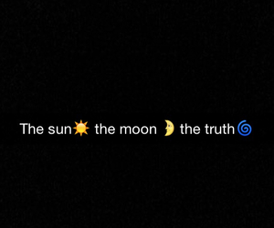 The Moon, the sun, and the truth image