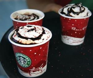 chocolate, christmas, and coffe image