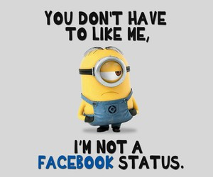 facebook, minions, and like image