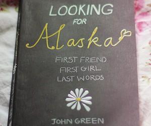 book, looking for alaska, and john green image