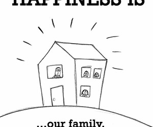 family, happy, and happiness is image