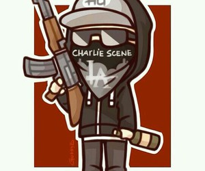 hollywood undead, charlie scene, and chibi image