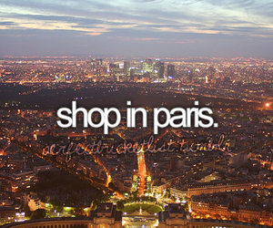 paris, shop, and shopping image