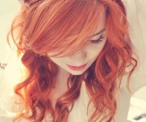 beautiful, fashion, and ginger image