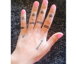 fingers and tattoo image