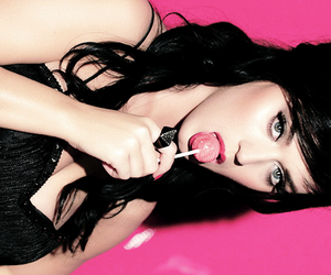 beautiful, katy perry, and black image