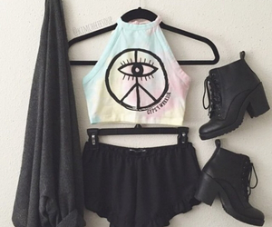 black, summer, and clothes image