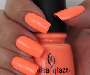 nails, beauty, and enamel image