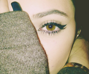 eyes, kylie jenner, and eye image