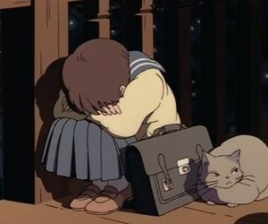 anime, cat, and shizuku tsukishima image
