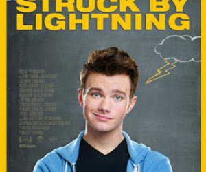 chris colfer and struck by lightning image