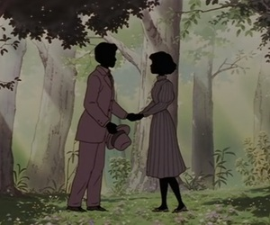 couple, whisper of the heart, and love image