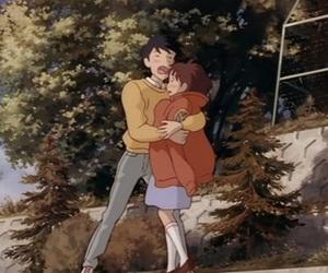anime, studio ghibli, and shizuku tsukishima image