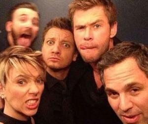 Avengers, chris evans, and chris hemsworth image