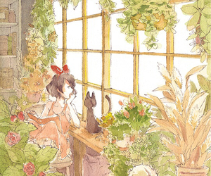 art, watercolor, and kiki's delivery service image