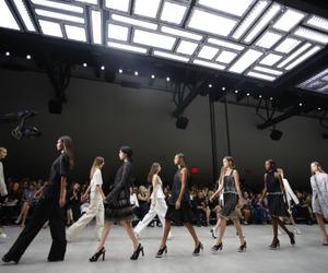 black, models, and fashion image
