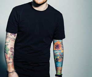 ed sheeran, tattoo, and music image