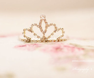 crown, princess, and pink image