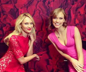 Karlie Kloss and candice swanepoel image