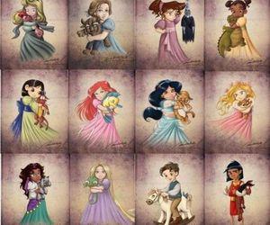 disney, princess, and baby image