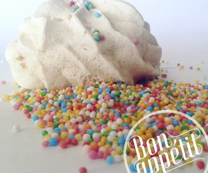 candy, colors, and meringue image