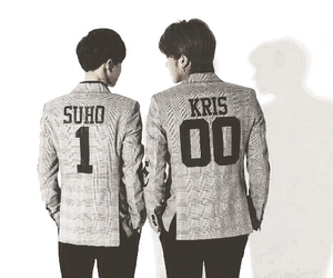 exo, suho, and kris image