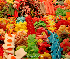 candy, sweet, and gummy image