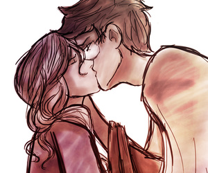couple, harry potter, and the marauders image