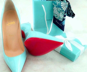blue, shoes, and louboutin image