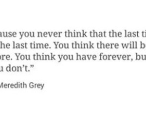 forever, sad, and meredith grey image